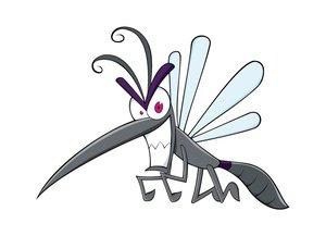 Los mosquitos se sienten atraidos por el color azul